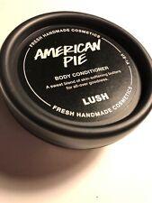 New Lush Cosmetics America Pie Shower Body Conditioner 3 Oz American Cream Trave