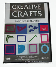 CREATIVE CRAFTS - BASIC PICTURE FRAMING - DVD - NEW IN SEALED BOX