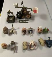 Vintage 1989 Playmates Barnyard Commandos Lot Figures Accessories Catapult Tank