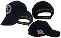 President of United States Seal POTUS Navy Blue Embroidered Cap Hat Trump 2020
