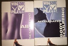 Winsor Pilates 2 DVDs - Ab Sculpting and Accelerated Body Sculpting - Free Ship!