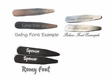 Personalised Magnetic Collar Stiffeners with Magnets to Engrave and Customise