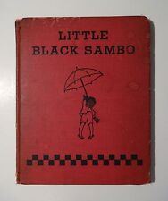 LITTLE BLACK SAMBO, Color Illustrations, Donohue Edition, Peter Rabbit Series