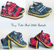Toddler Boys Infant Canvas Shoes Trainers Pumps Sizes 4 5 6 7 8