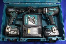 Makita XT248 18V Compact Li-Ion Brushless Cordless Combo Kit XPH06 XDT08 3.0ah