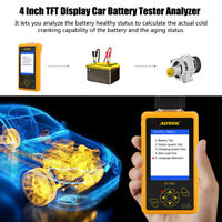 12V/24V Auto Autobatterie Batterietester KFZ Werkzeug Prüfgerät für PKW LKW KFZ