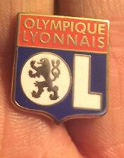 OLYMPIQUE LYONNAIS LYON CREST  ENAMEL PIN BADGE