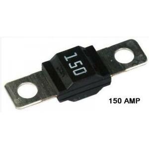 Midi / Strip Link Fuse Car Auto Heavy Duty High Current Fuses - 150 Amp Black