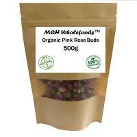 Dried Pink Rose Buds Craft Confetti Potpourri 100% Pure Premium Quality!