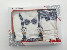 UK SELLER 5 Piece Newborn Hospital Outfit Set Baby Boy Gift Set Clothes