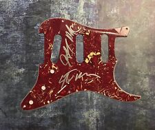 GFA Jeff Steve McDonald REDD KROSS Signed Electric Pickguard PROOF AD1 COA