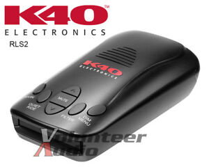 K40 RLS2 All Band Radar And Laser Detector With GPS Ticket Free Guarantee