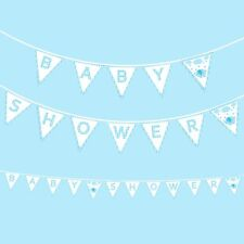 Blue Bunting 3m Approx. a Baby Shower Decoration