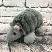 "Aurora Armadillo Plush 9"" Gray Desert Wildlife Stuffed Animal Textured Soft Toy"