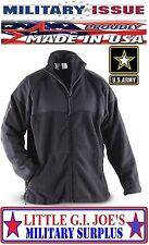 Large NEW Black ARMY POLARTEC 300 Fleece Jacket ECWCS Gen II Fleece Liner DSCP