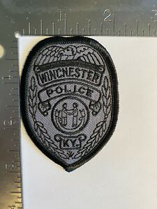 WINCHESTER KENTUCKY POLICE PATCH
