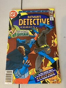 Detective Comics # 479 VF/NM (9.0) Death of Clayface DC Comics Marshal Rodgers