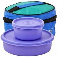 New Tupperware Classic Lunch Box with Bag, 2-Pieces - Free Worldwide Shipping