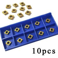 Carbide Inserts Metalworking Set Toolholding CCMT060204-HM YBC251 Durable