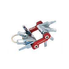 AXIOM Tweak 8 funzioni-Mini Bike Multi Tool-Rosso