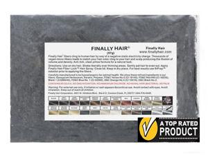 Finally Hair Building Fiber Black / Dark Brown / Medium Brown / Light Brown 57g