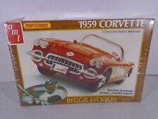1981 AMT / MATCHBOX--1959 CORVETTE--MODEL KIT (REGGIE JACKSON SERIES) 1/25 SCALE