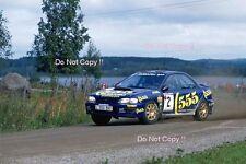 ARI VATANEN SUBARU IMPREZA 555 1000 Lakes Rally 1993 fotografia 1