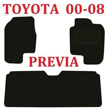 Toyota Previa Deluxe Quality Tailored Car mats 2000 2001 2002 2003 2004 2005