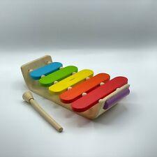 Plan Toys - Oval Holz Xylephone (6405) für Kinder ab 12 Monaten (Wie Neu)