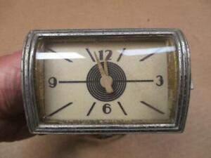 1940 Lincoln Zephyr Dash Clock