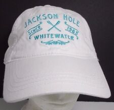 Jackson Hole Hat Cap Wyoming WhiteWater Rafting Unisex USA Embroidery New