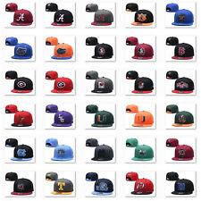 Embroidered NCAA Collegiate Baseketball Teams Snapback Baseball Caps Unisex
