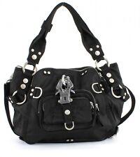 GEORGE GINA & LUCY Nylon Symbolessa Tasche Umhängetasche Handtasche Black