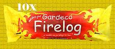10x Gardeco Firelog Fire Log Chimineas Open Fires