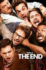 THIS IS THE END Movie Poster - Seth Rogen Full Size 24x36 ~ Franco Hill Rudd