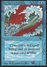 MTG BLUE ELEMENTAL BLAST FBB - SCARICA ELEMENTALE BLU 1° ED ITA BN - MAGIC