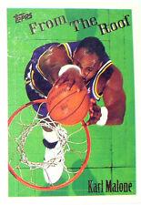CARTE NBA BASKET BALL 1995 PLAYER CARDS KARL MALONE (280)