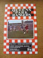 04/09/1976 Queens Park Rangers v West Bromwich Albion  (Item has no apparent fau