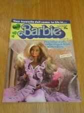 BARBIE #15 16TH-29TH MAY 1986 IPC BRITISH WEEKLY^