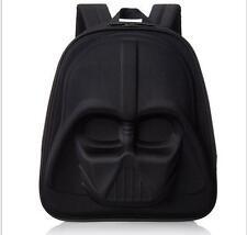 star wars Black warrior Backpack Cartoon School Bag Student Bags  Schoolbag