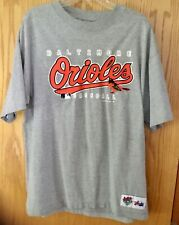 One Majestic Baltimore Orioles large T-shirt