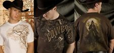 3 T-SHIRT COWBOY UP TAGLIE XXL AMERICANE