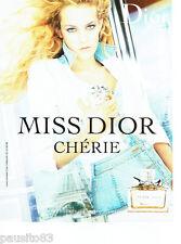 PUBLICITE ADVERTISING 046  2006  Dior parfum MIss Dior Chérie