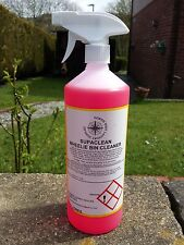 1LT SPRAY SUPA CLEAN WHEELIE BIN CLEANER/DISINFECTANT LEAVES FLORAL ODOUR