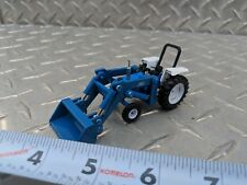 1/64 ERTL custom Ford 5610 tractor with Ford loader farm toy free ship s scale