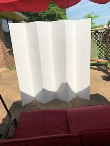 Balcony Patio Privacy Screen Room Divider Home Office 5 1/2 ft tall FREE SHIP