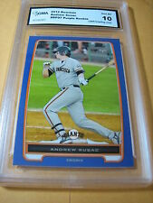 ANDREW SUSAC GIANTS 2012 BOWMAN PURPLE ROOKIE RC # BP97 GRADED 10