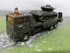 dinky size /Matchbox superkings Ford int. tank transporter. military army  code3