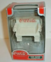 Vintage 2001 Coca-Cola Town Square Park Bench (New In Box) Coke Advertising