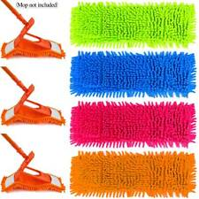 Microfiber Mop Pad Dry Replacement Flat Refill Floor Cleaner Dust Cleaning Cloth